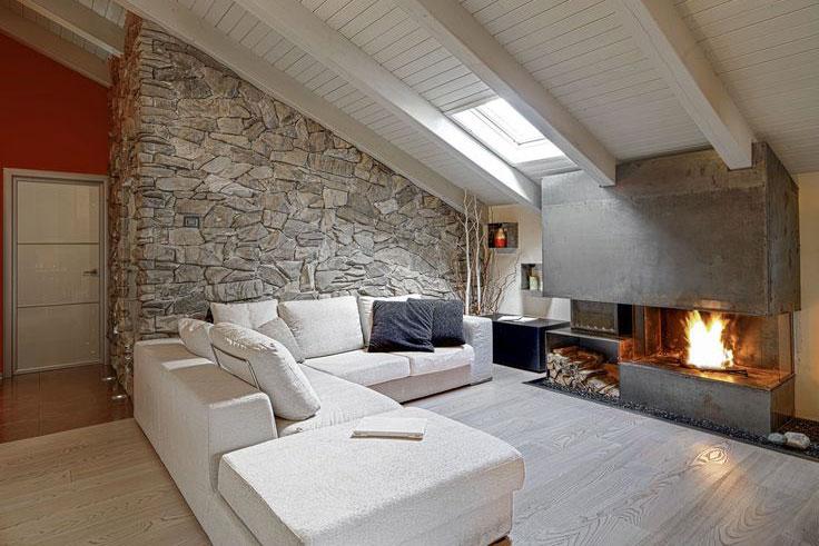 Mobili per mansarda cesano maderno lazzarin e garavello - Camera da letto sottotetto ...
